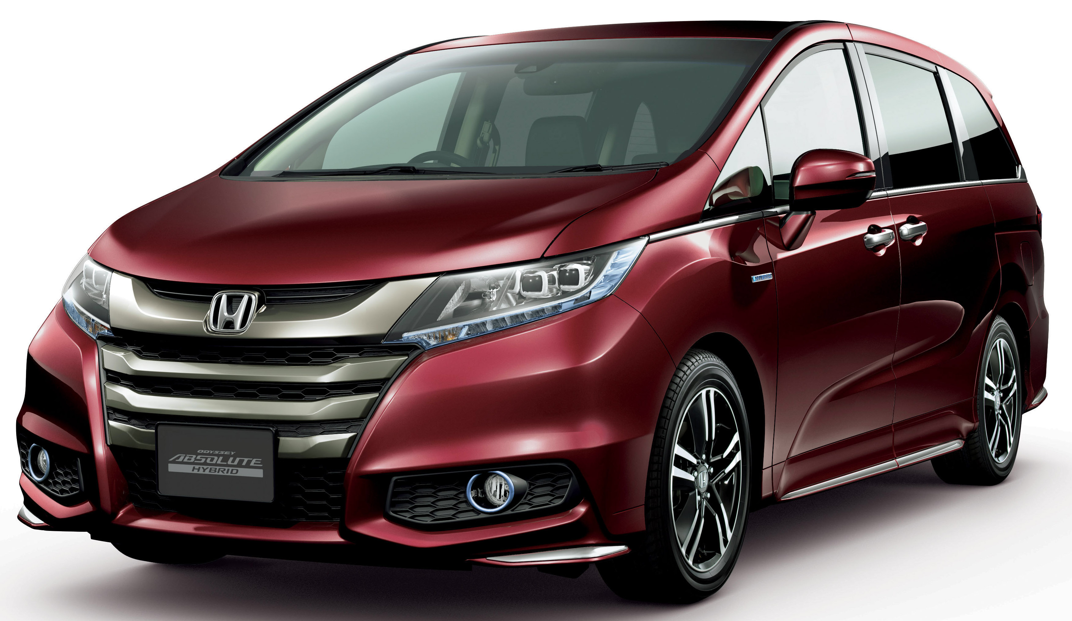 honda odyssey hybrid refresh goes on sale in japan image 438326. Black Bedroom Furniture Sets. Home Design Ideas