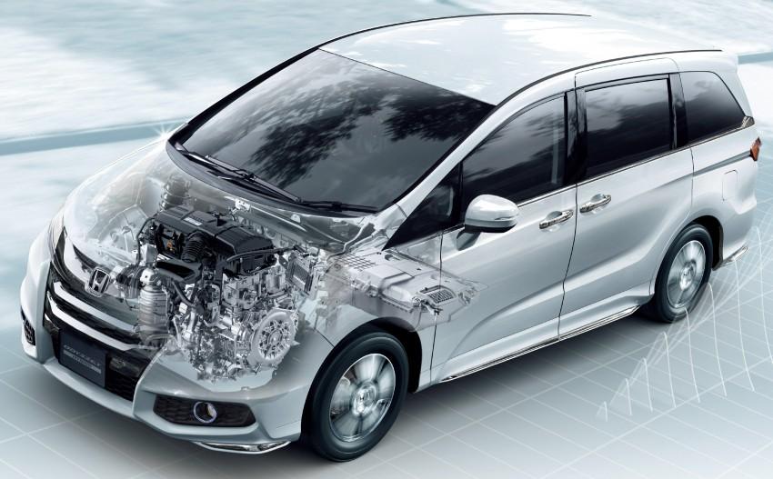 Honda Odyssey Hybrid/refresh goes on sale in Japan Image #438330