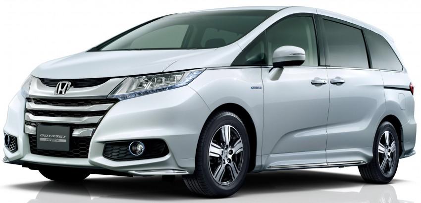 Honda Odyssey Hybrid/refresh goes on sale in Japan Image #438317
