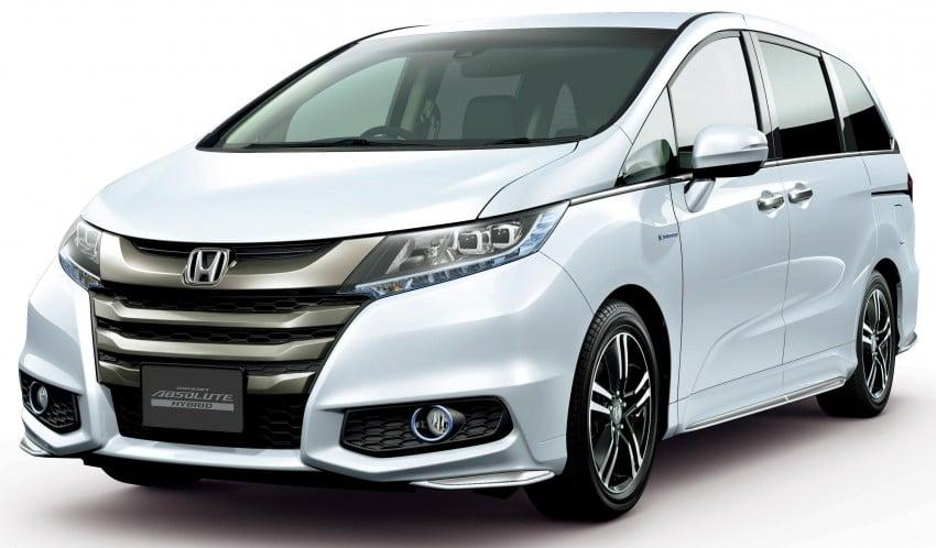 Honda Odyssey Hybrid/refresh goes on sale in Japan Image #438320