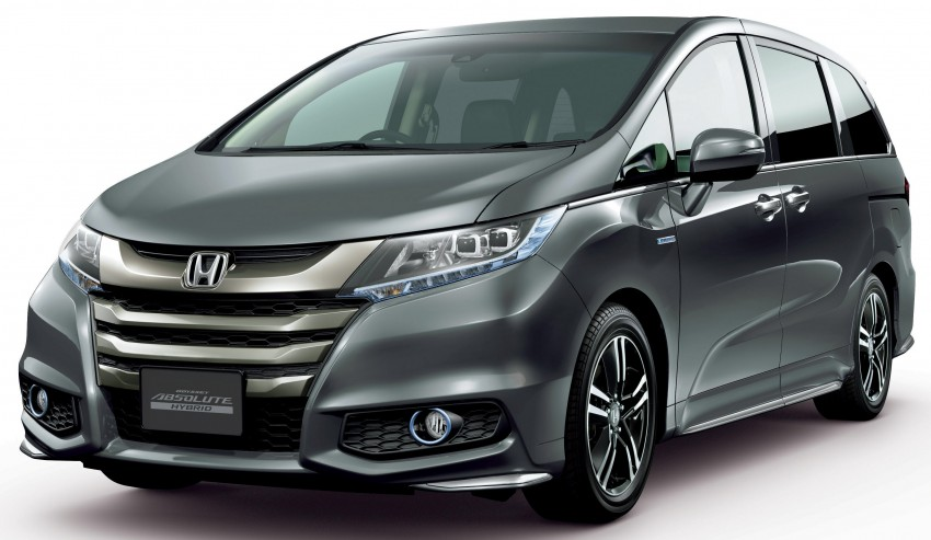 Honda Odyssey Hybrid/refresh goes on sale in Japan Image #438322
