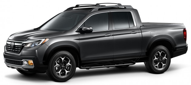 2017 Honda Ridgeline with Honda Genuine Accessories
