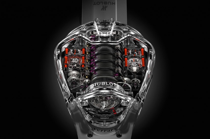 Hublot MP-05 LaFerrari Sapphire – an updated tribute Image #436906