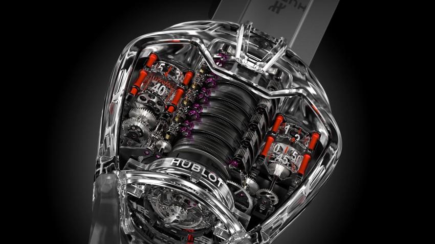 Hublot MP-05 LaFerrari Sapphire – an updated tribute Image #436913
