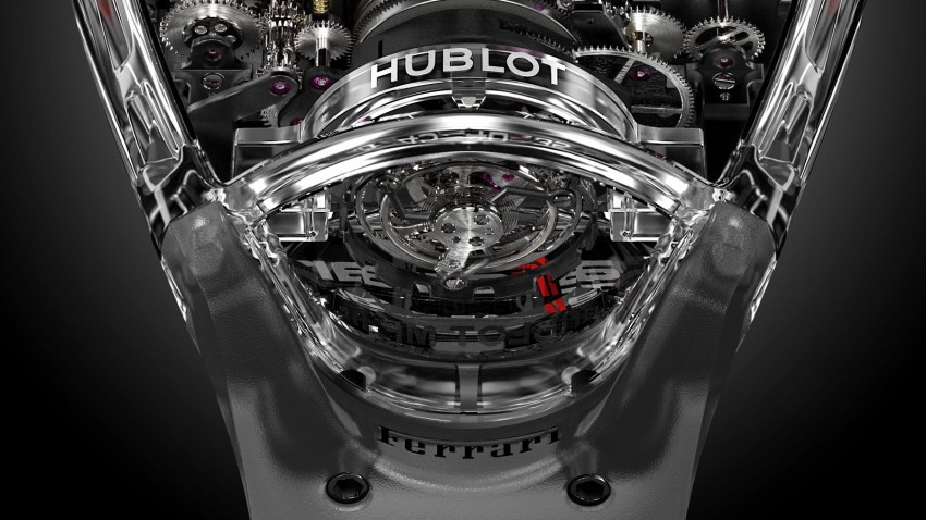 Hublot MP-05 LaFerrari Sapphire – an updated tribute Image #436912