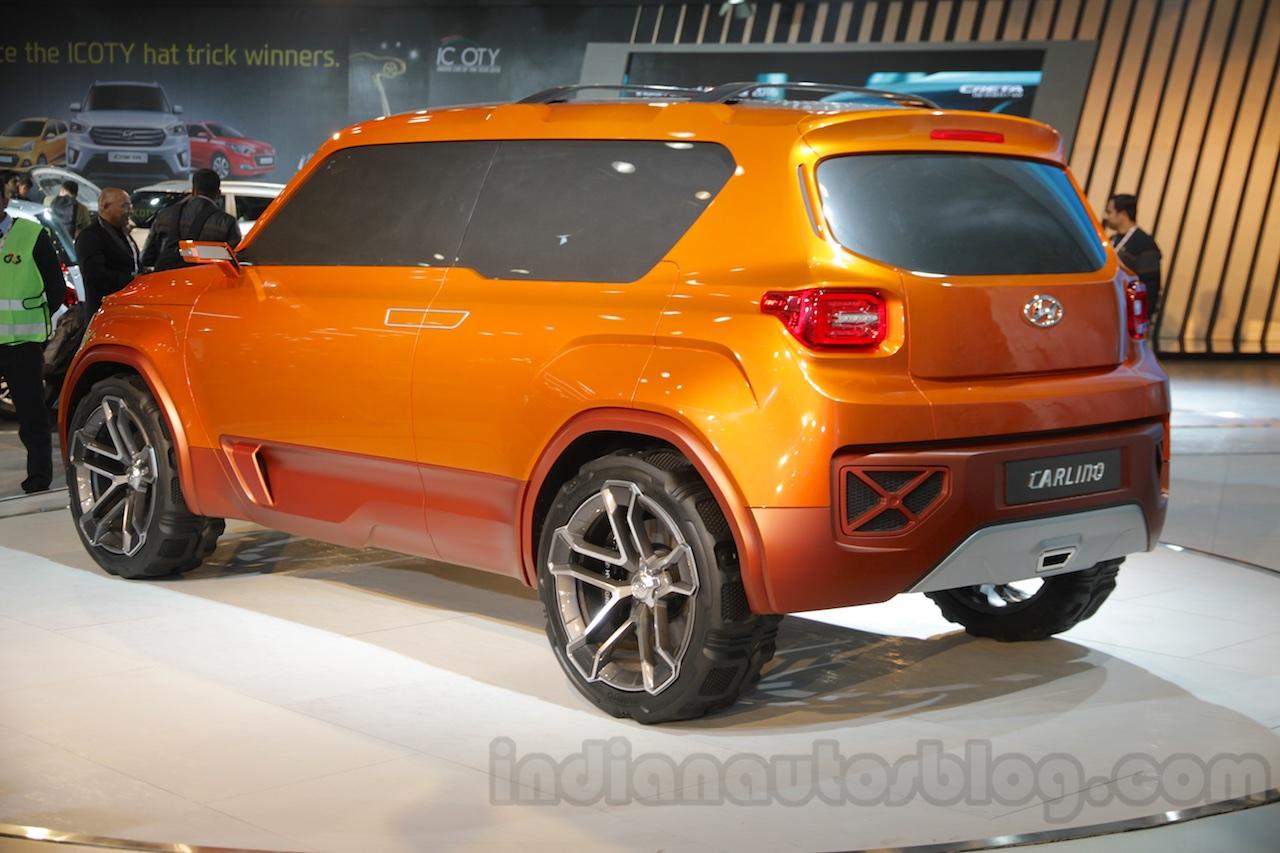 2016 Delhi Auto Expo Top 10 Concept Cars: Hyundai Carlino HND-14 SUV Concept Unveiled In Delhi Paul