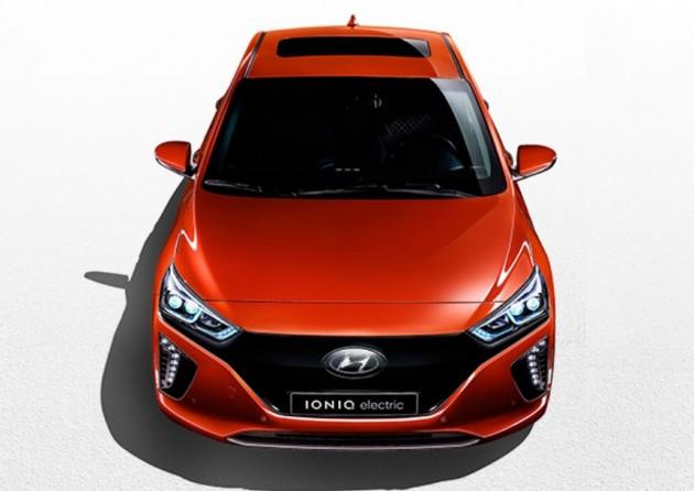 Hyundai Ioniq Electric early reveal