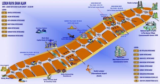Kesas route