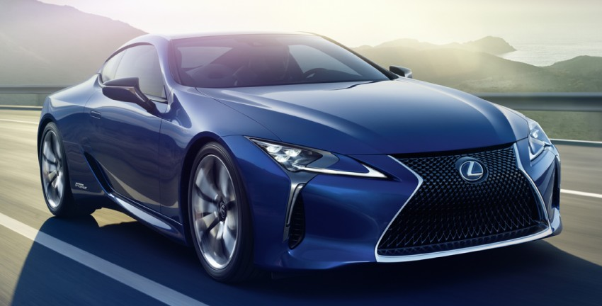 Lexus LC 500h set to be revealed at Geneva Motor Show with all-new Lexus Multi Stage Hybrid System Image #441997