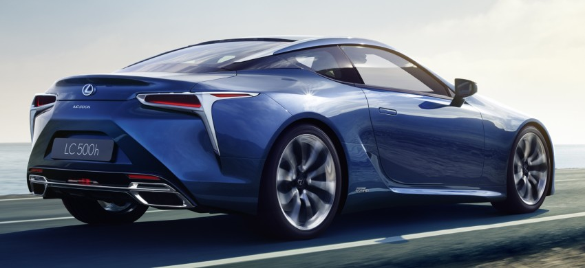 Lexus LC 500h set to be revealed at Geneva Motor Show with all-new Lexus Multi Stage Hybrid System Image #441998