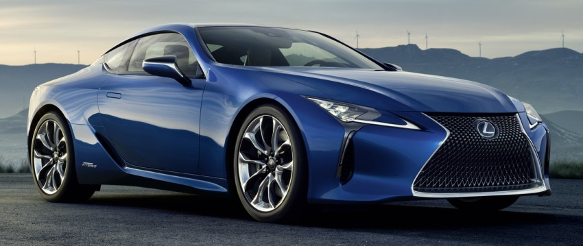 Lexus LC 500h set to be revealed at Geneva Motor Show with all-new Lexus Multi Stage Hybrid System Image #441999