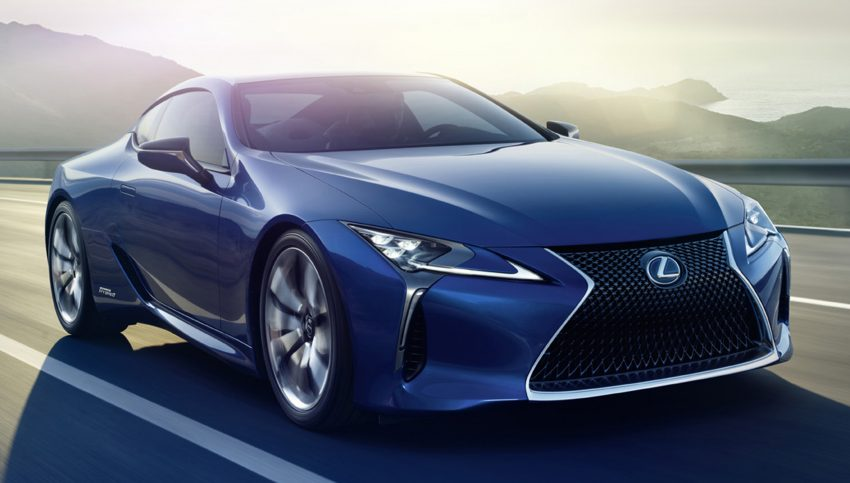 2016 Lexus LC 500h detailed – new Multi Stage Hybrid System uses lithium-ion battery and a four-speed auto Image #443986