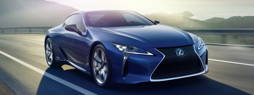 2016 Lexus LC 500h detailed – new Multi Stage Hybrid System uses lithium-ion battery and a four-speed auto Image #443934