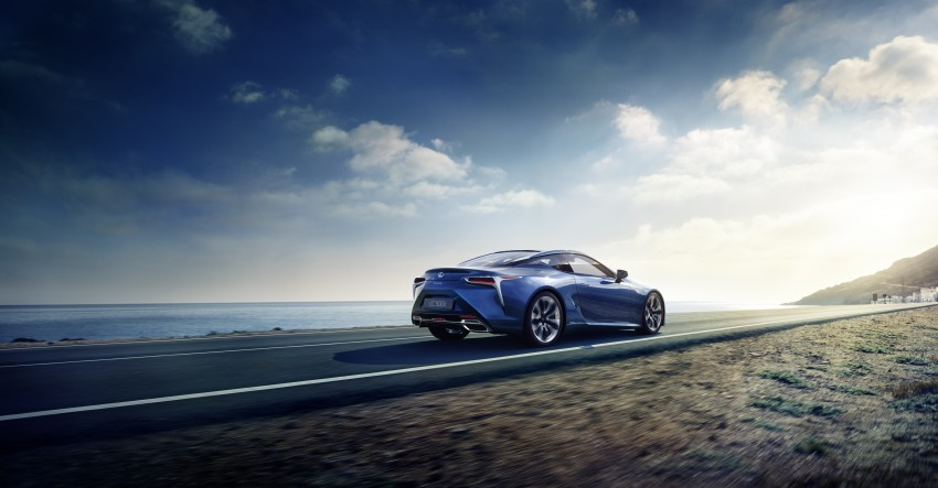 2016 Lexus LC 500h detailed – new Multi Stage Hybrid System uses lithium-ion battery and a four-speed auto Image #443932