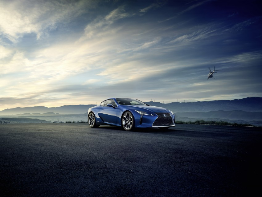 2016 Lexus LC 500h detailed – new Multi Stage Hybrid System uses lithium-ion battery and a four-speed auto Image #443987