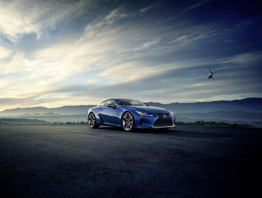2016 Lexus LC 500h detailed – new Multi Stage Hybrid System uses lithium-ion battery and a four-speed auto Image #443933