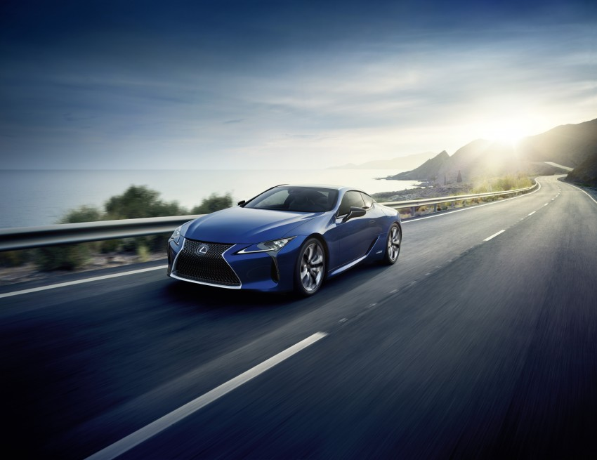 2016 Lexus LC 500h detailed – new Multi Stage Hybrid System uses lithium-ion battery and a four-speed auto Image #443984