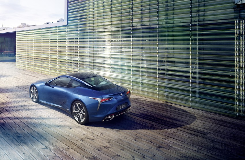 2016 Lexus LC 500h detailed – new Multi Stage Hybrid System uses lithium-ion battery and a four-speed auto Image #443981