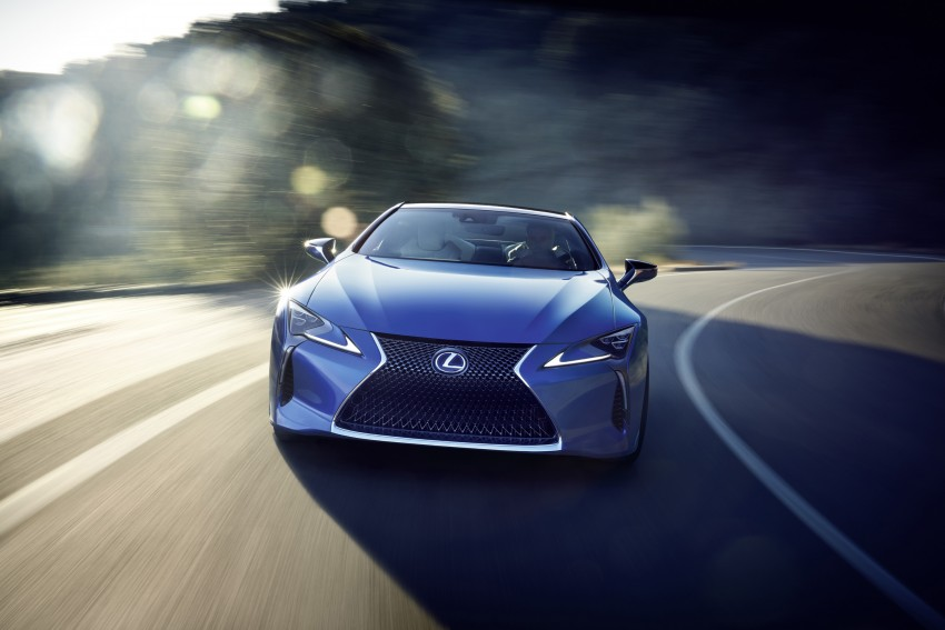 2016 Lexus LC 500h detailed – new Multi Stage Hybrid System uses lithium-ion battery and a four-speed auto Image #443980