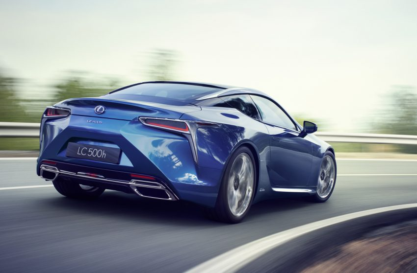 2016 Lexus LC 500h detailed – new Multi Stage Hybrid System uses lithium-ion battery and a four-speed auto Image #443979