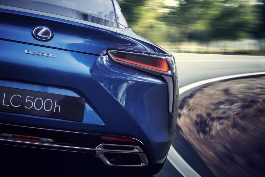 2016 Lexus LC 500h detailed – new Multi Stage Hybrid System uses lithium-ion battery and a four-speed auto Image #443977