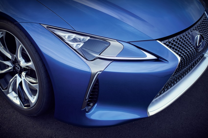 2016 Lexus LC 500h detailed – new Multi Stage Hybrid System uses lithium-ion battery and a four-speed auto Image #443975