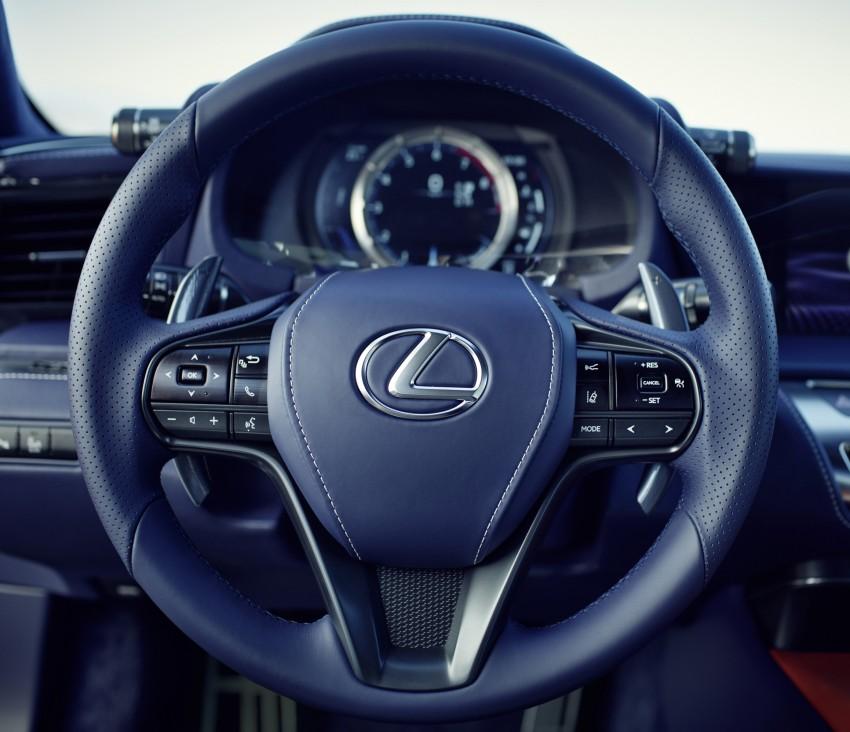 2016 Lexus LC 500h detailed – new Multi Stage Hybrid System uses lithium-ion battery and a four-speed auto Image #443971