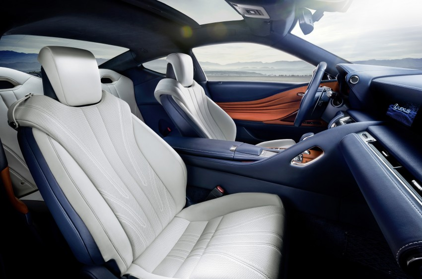 2016 Lexus LC 500h detailed – new Multi Stage Hybrid System uses lithium-ion battery and a four-speed auto Image #443966