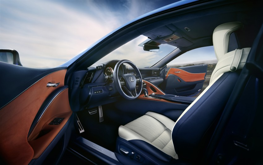 2016 Lexus LC 500h detailed – new Multi Stage Hybrid System uses lithium-ion battery and a four-speed auto Image #443968