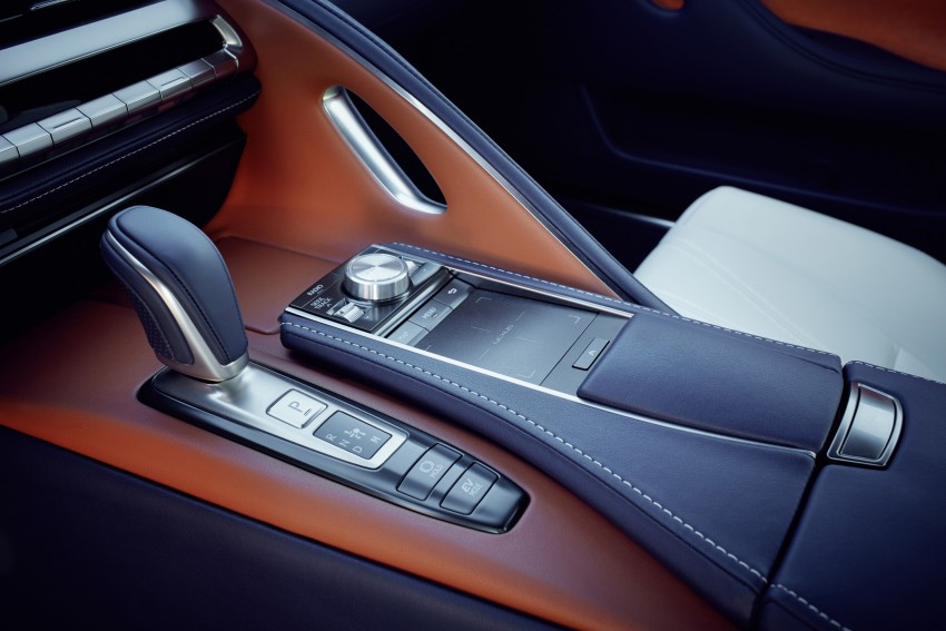 2016 Lexus LC 500h detailed – new Multi Stage Hybrid System uses lithium-ion battery and a four-speed auto Image #443965