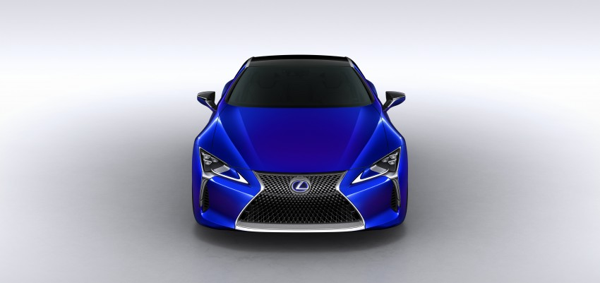 2016 Lexus LC 500h detailed – new Multi Stage Hybrid System uses lithium-ion battery and a four-speed auto Image #443961