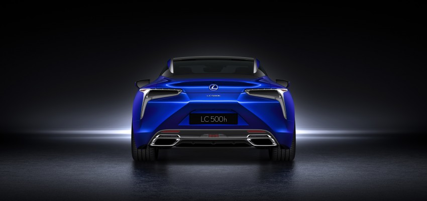 2016 Lexus LC 500h detailed – new Multi Stage Hybrid System uses lithium-ion battery and a four-speed auto Image #443960
