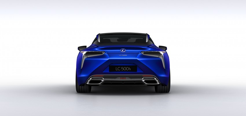 2016 Lexus LC 500h detailed – new Multi Stage Hybrid System uses lithium-ion battery and a four-speed auto Image #443959