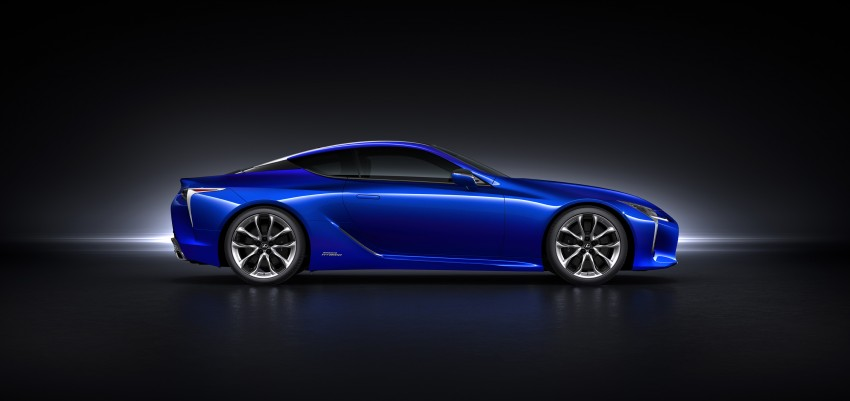 2016 Lexus LC 500h detailed – new Multi Stage Hybrid System uses lithium-ion battery and a four-speed auto Image #443958