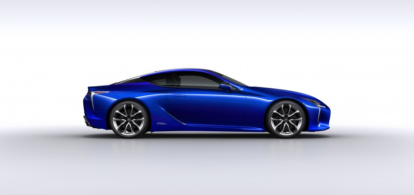 2016 Lexus LC 500h detailed – new Multi Stage Hybrid System uses lithium-ion battery and a four-speed auto Image #443957