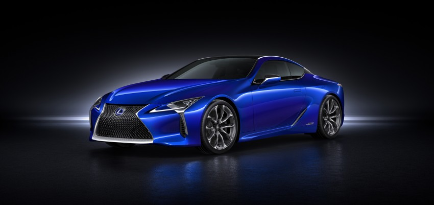 2016 Lexus LC 500h detailed – new Multi Stage Hybrid System uses lithium-ion battery and a four-speed auto Image #443956