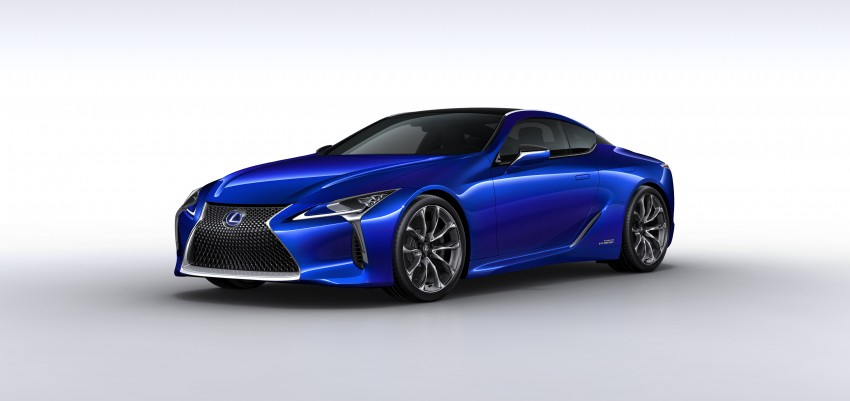 2016 Lexus LC 500h detailed – new Multi Stage Hybrid System uses lithium-ion battery and a four-speed auto Image #443955