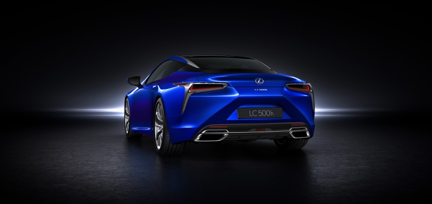 2016 Lexus LC 500h detailed – new Multi Stage Hybrid System uses lithium-ion battery and a four-speed auto Image #443954