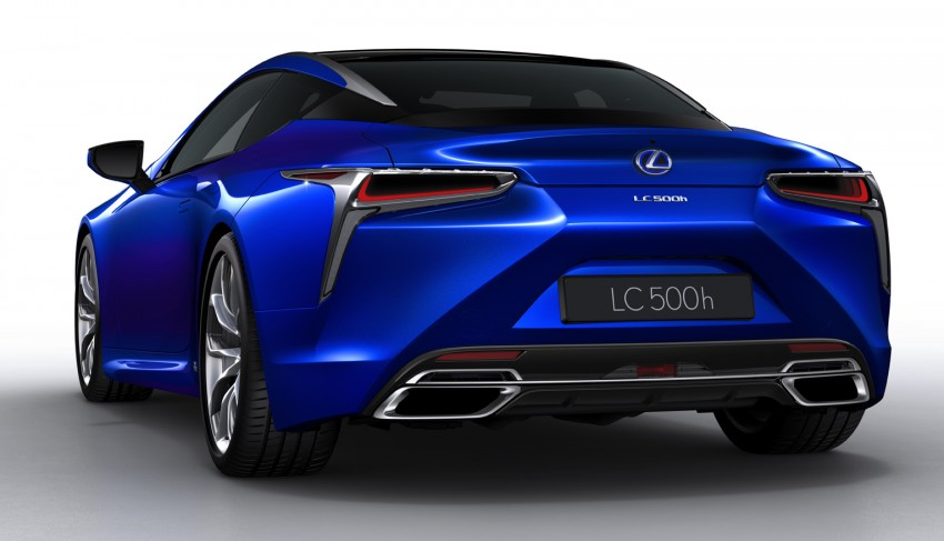 2016 Lexus LC 500h detailed – new Multi Stage Hybrid System uses lithium-ion battery and a four-speed auto Image #443953