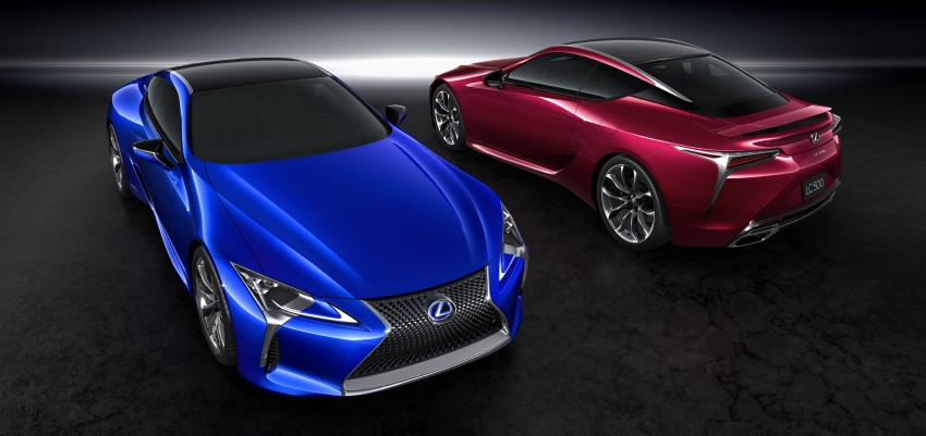 2016 Lexus LC 500h detailed – new Multi Stage Hybrid System uses lithium-ion battery and a four-speed auto Image #443952