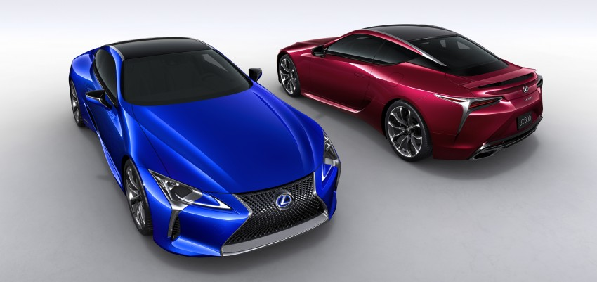 2016 Lexus LC 500h detailed – new Multi Stage Hybrid System uses lithium-ion battery and a four-speed auto Image #443950