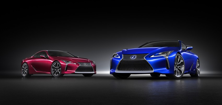 2016 Lexus LC 500h detailed – new Multi Stage Hybrid System uses lithium-ion battery and a four-speed auto Image #443951