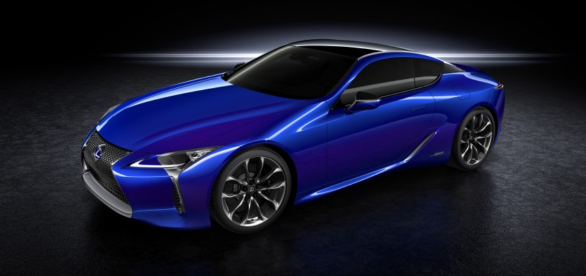 2016 Lexus LC 500h detailed – new Multi Stage Hybrid System uses lithium-ion battery and a four-speed auto Image #443943