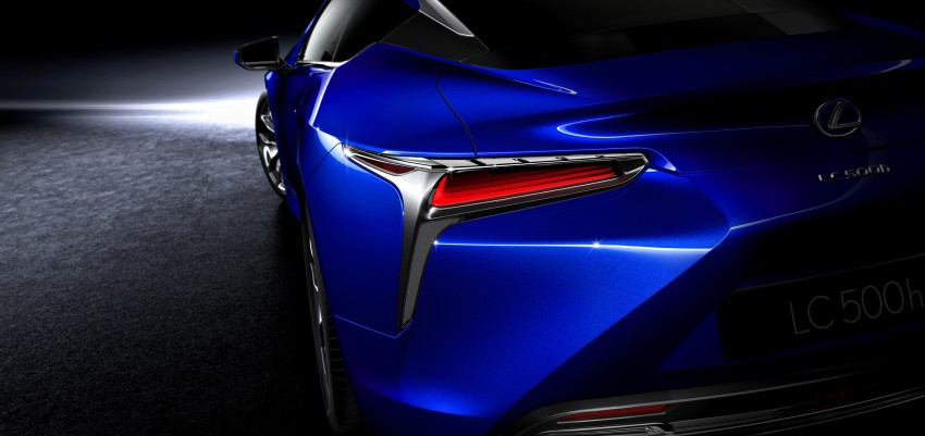 2016 Lexus LC 500h detailed – new Multi Stage Hybrid System uses lithium-ion battery and a four-speed auto Image #443946