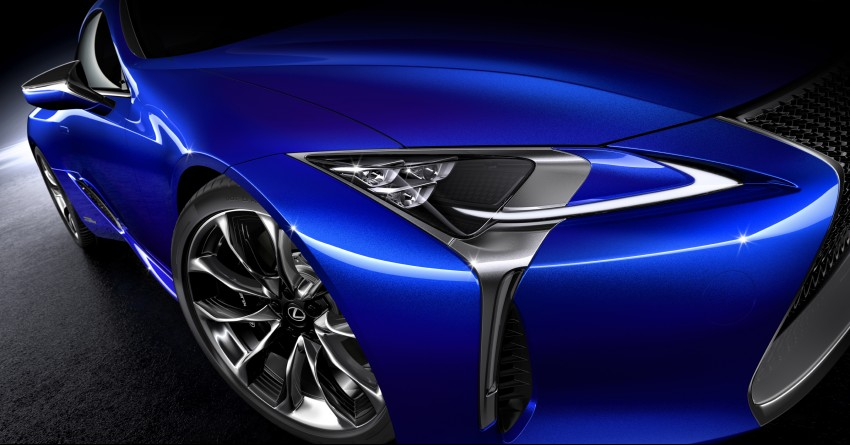 2016 Lexus LC 500h detailed – new Multi Stage Hybrid System uses lithium-ion battery and a four-speed auto Image #443945