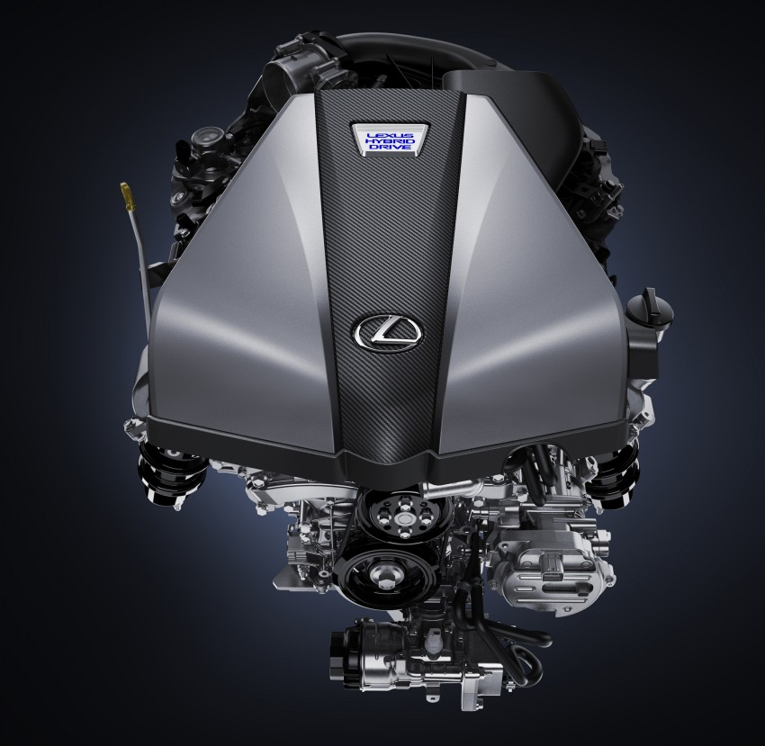 2016 Lexus LC 500h detailed – new Multi Stage Hybrid System uses lithium-ion battery and a four-speed auto Image #443940