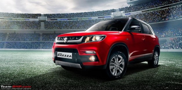 Maruti Suzuki Vitara Brezza leak 2