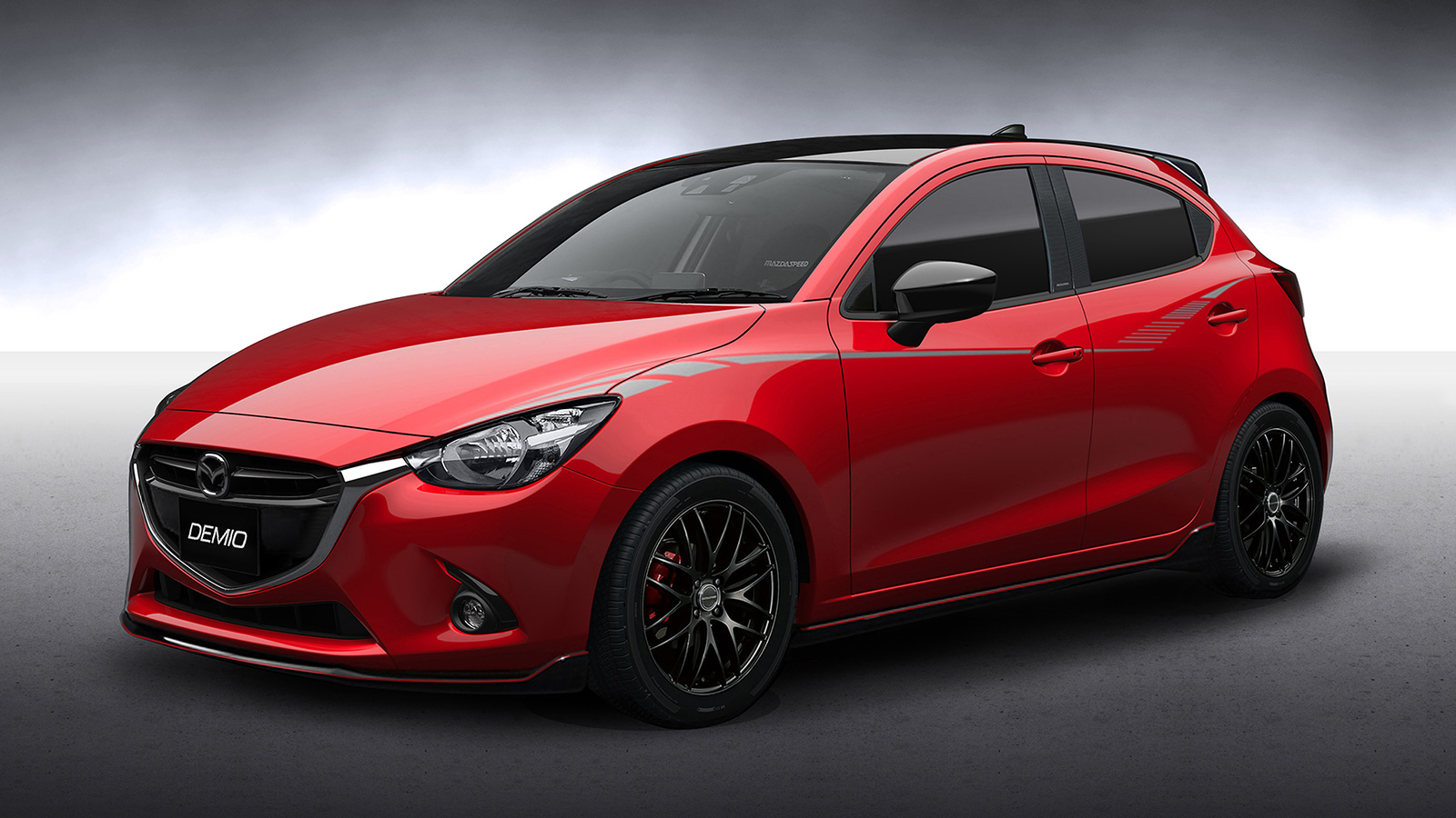 mazda reveals 2016 osaka auto messe line up mazda 2 15mb racing concept joins 6 cx 3 mx 5 on. Black Bedroom Furniture Sets. Home Design Ideas
