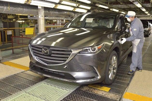 Mazda CX-9 production begins 2