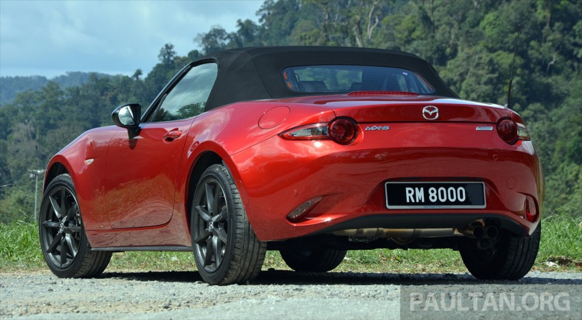 DRIVEN: Mazda MX-5 ND 2.0 – heightened sensations Image #438364